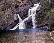 AA01122-02 ...ALBERTA - Cameron Falls in Waterton Lakes National Park.