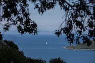 Dionysos Hotel is on Bozburun peninsula outside of Marmaris, on a hill overlooking Kumlubuk Bay