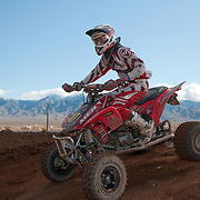 DWT World ATV MX Championship series, Rounds 1-2 held at Mesquite MX Park in Mesquite Nevada