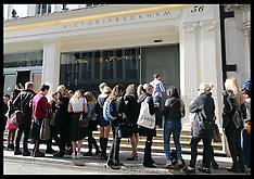 SEP 25 2014 Victoria Beckham shop opening