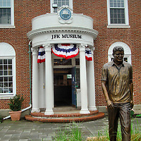 John F. Kennedy Hyannis Museum in Hyannis Port, Massachusetts<br /> In Cape Cod, along Nantucket Sound, is the Kennedy Compound of three, clapboard houses in Hyannis Port, Massachusetts.  Nearby is the JFK Museum.  It traces the family&rsquo;s history to the area, including Joe Kennedy&rsquo;s purchase of the home in 1927, his nine children&rsquo;s early summers there, how it became the Summer White House of JFK, and how Ted lived there until his death at the compound in 2009.  A 50th anniversary tribute to JFK&rsquo;s last summer and months in 1963 opened in 2013.