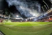 ROTTERDAM - Feyenoord - Ajax , Voetbal , KNVB Beker , Seizoen 2015/2016 , Stadion de Kuip , 25-10-2015 , Sfeer in de Kuip