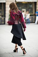 Christine Centenera at Schiaparelli Couture FW2014 - detail