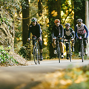 """Going up Old La Honda. """"Ride In The Redwoods""""   Canadian Cycling Magazine"""