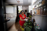 Anabela preparing lunch. Anabela and Carlos, a  middle-class couple, are facing a new stage in their life with early retirement situation, learning and adapting to new schedules, new rituals, new interests and above all the desire to take advantage of this new reality.<br />