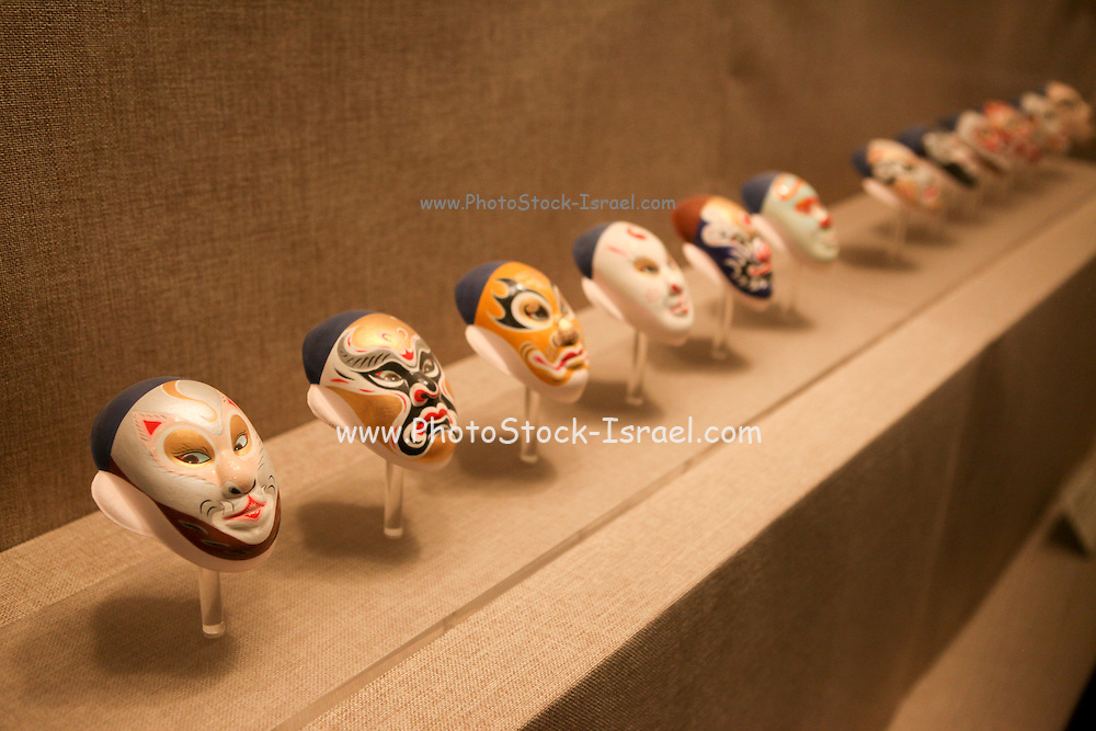 China, Tianjin, Interior of the Tianjin Museum exhibiting a range of cultural and historical relics