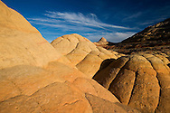 Tolling sandstone formations atop the Wave in Arizona's Paria Canyon-Vermilion Cliffs Wilderness Area.