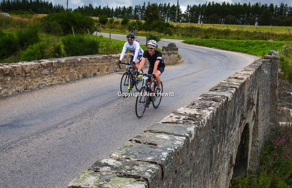 Ride the North 2016<br /> <br /> Day 1 - Saturday. Rhynie to Culloden Academy