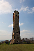 The Tyndale Monument is a tower built on a hill at North Nibley, Gloucestershire, England. It was built in honour of William Tyndale, a translator of the New Testament, who is believed to have been born at North Nibley.