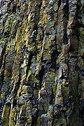 Basalt columns found at the harbour in Stykkishólmur, on the northern coast of the Snæfellsnes Peninsular in Western Iceland