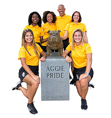 2016 A&T Women's Golf Team Pictures