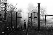 02 April 2016, Idomeni Greece - A Child at an improvvised camp at the Greek-Macedonian border.