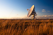 One of the 27 antennas that make up the Very Large Array. Southwestern New Mexico near Pie Town.