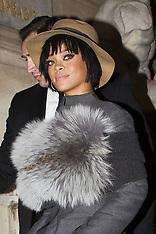 FEB 27 2014  Celebrity Sighting At Paris Fashion Week