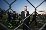 Frankfurt am Main | 09 March 2016<br /> <br /> Andr&eacute; von Holtzapfel is the president of SV Blau-Gelb sports club in Frankfurt, Germany.<br /> <br /> photo &copy; peter-juelich.com