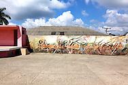 Mural in La Maya, Santiago de Cuba, Cuba.