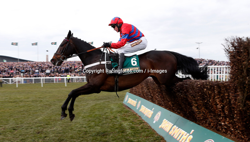 Sprinter Sacre and Barry Geraghty winning The John Smith's Melling Chase, Aintree Racecourse, Aintree, Merseyside, England. April 5, 2013. Photo by Racingfotos.com / i-Images...