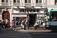 rue de la varrerie Paris France in Spring time of May 2008