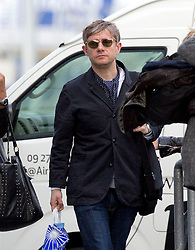 Hobbit actor, Martin Freeman between flights after arriving  on a flight form Los Angeles, Auckland, New Zealand, Sunday, November 25, 2012. Credit: SNPA /  Simon Runting