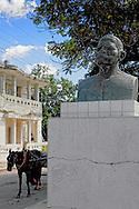 Maceo bust in San Luis, Pinar del Rio, Cuba.