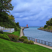 &quot;Charlevoix&quot;<br /> <br /> Enjoy this lovely scene on an early fall morning in Charlevoix Michigan!
