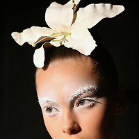 May 02, 2008 - Sydney, Australia - A model backstage before the Akira show at Rosemount Australian Fashion Week in Sydney..(Credit Image: © Marianna Day Massey)