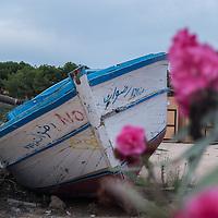 20 Schiffsfriedhof Lampedusa
