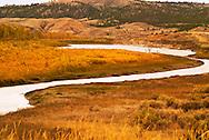 Missouri River, Charles M. Russell National Wildlife Refuge, Montana, Autumn