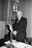 1964 - Dr James Ryan on Budget Day