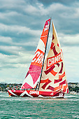 VOR, Auckland, Practice race day