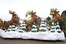 NOV 17 2014 Disneyland Paris Christmas Parade