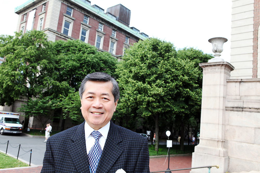 """Ed Chin '71..""""This is a tremendous opportunity for you to make your own choices. College will be an epiphany."""""""
