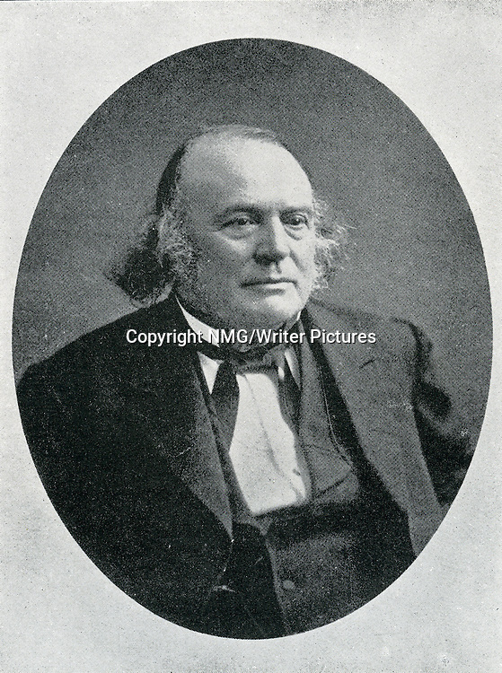 Louis Agassiz, American naturalist<br /> <br /> Copyright NMG/Writer Pictures<br /> WORLD RIGHTS