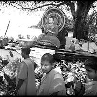 USE ARROWS &larr; &rarr; on your keyboard to navigate this slide-show<br /> <br /> Gandara , Sri Lanka, 3 January 2005<br /> Vijayaratnaramaya Boudhist temple destroyed by the tsunami, located in the south of Sri Lanka.<br /> Photo: Ezequiel Scagnetti