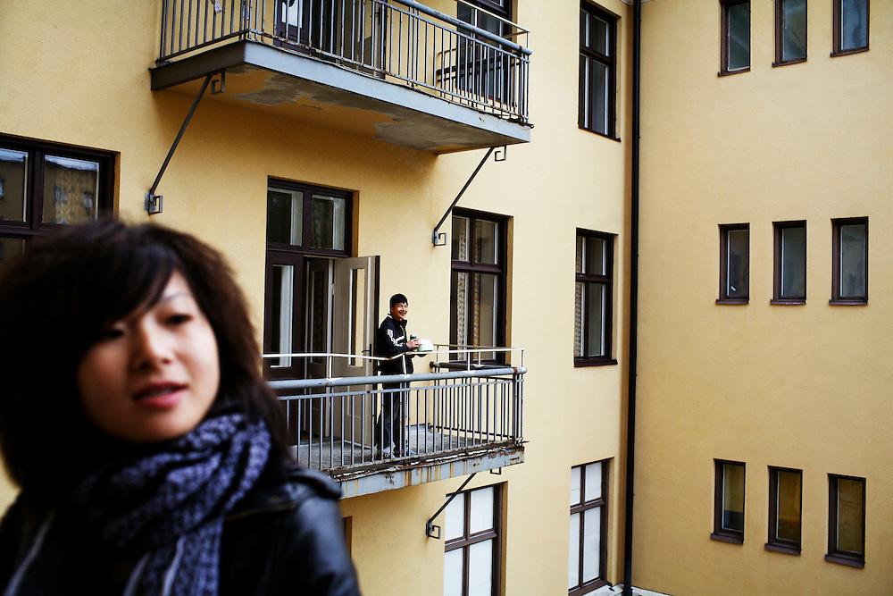 Deng Chao is an interpreter..Foto: Elin Berge /Moment