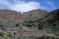 &quot;Florida Canyon, Nevada&quot; - This old home is located above Rye Patch Reservoir in the Florida Canyon. It is part of a small Ghost Town. <br />