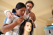 Sal Giaquinta, a committed hair-dresser./ PERU
