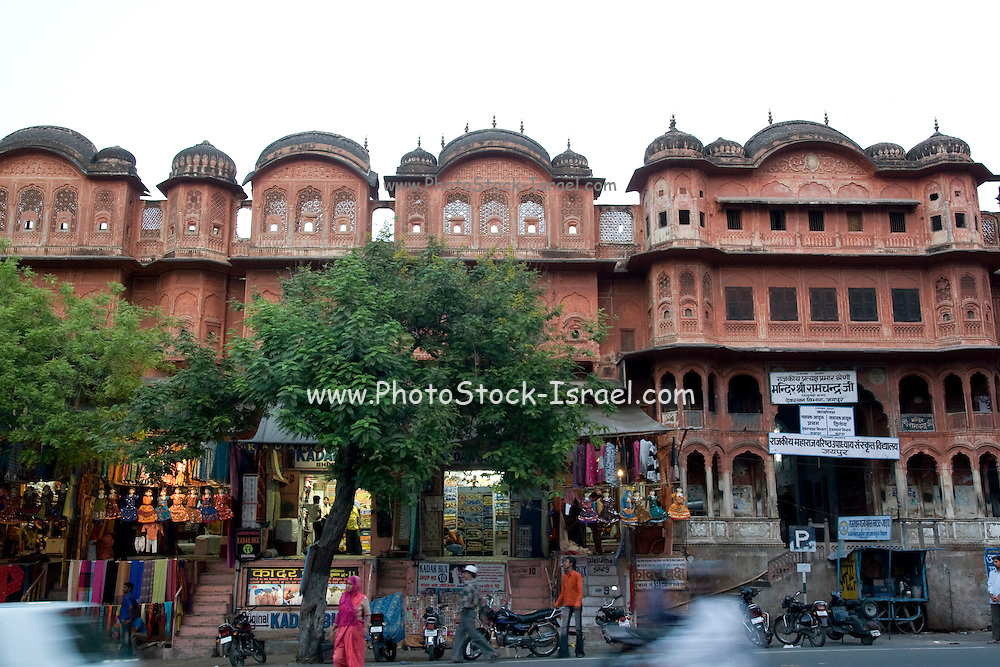 India, Rajasthan, Jaipur city centre