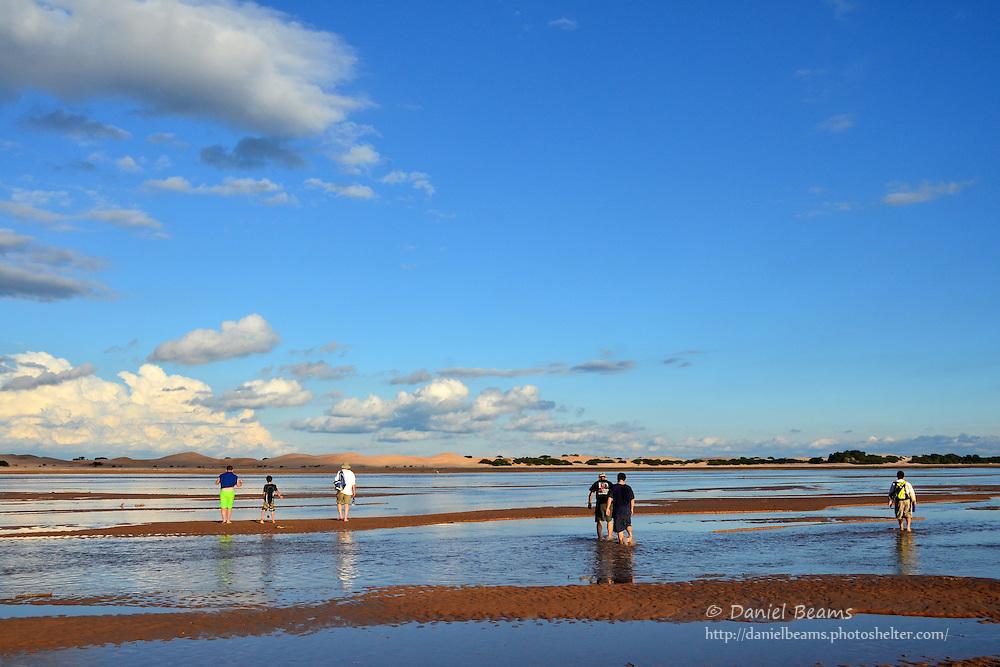 Sand dunes on the Parapeti river