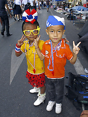 FEB 04 2014 Bangkok Protesters