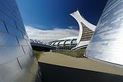 Planetarium at the  Olympic Stadium, Montreal, Quebec, Canada