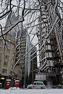 Lloyds of London building, City, London, England, Britain 2 Feb 2009