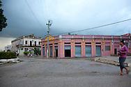 Downtown Antilla, Holguin, Cuba.