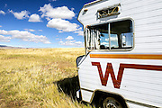 WY02401-00...WYOMING - Abandon RV in the town of Arminto.