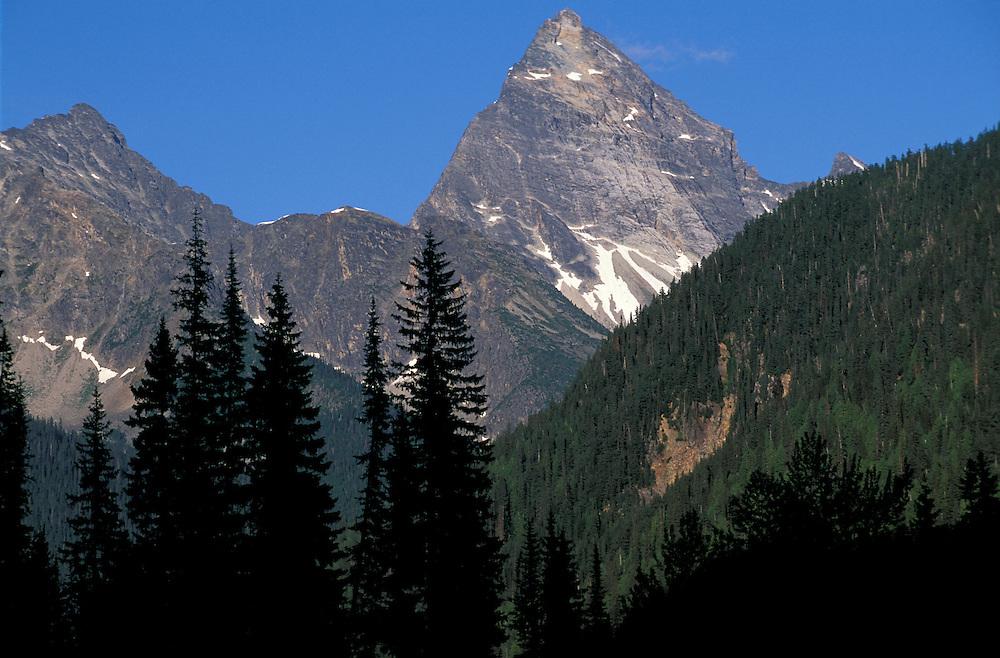 Mt. Sir Donald,.Glacier National Park,.British Columbia, Canada