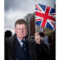 "The funeral for Margret Thatcher..Walter Sweeney (ex-MP): ""Margret Thatcher was an inspiration who altered my life."""