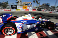 Helio Castroneves, Toyota Grand Prix of Long Beach, Streets of Long Beach, Long Beach, CA 04/15/12
