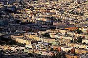Image of suburban Daly City, California, America west coast