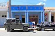 Cars in San Juan y Martinez, Pinar del Rio, Cuba.