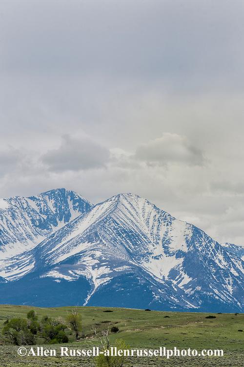 Crazy Mountains, North of Big Timber, Montana